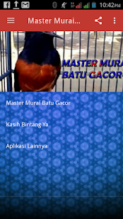 Master Murai Batu Gacor Screenshot