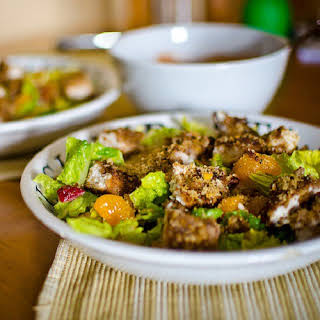 O'Charley's Pecan Chicken Tender Salad.