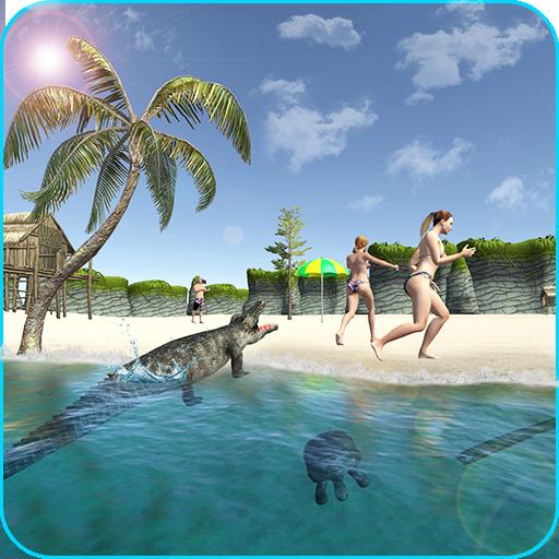 Crocodile Attack Wild simulator