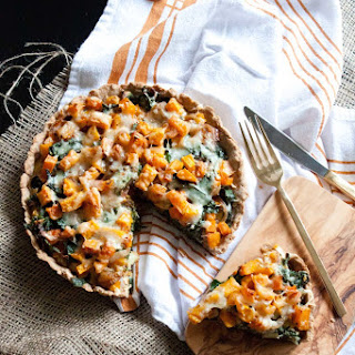 Butternut Squash-Kale Tart
