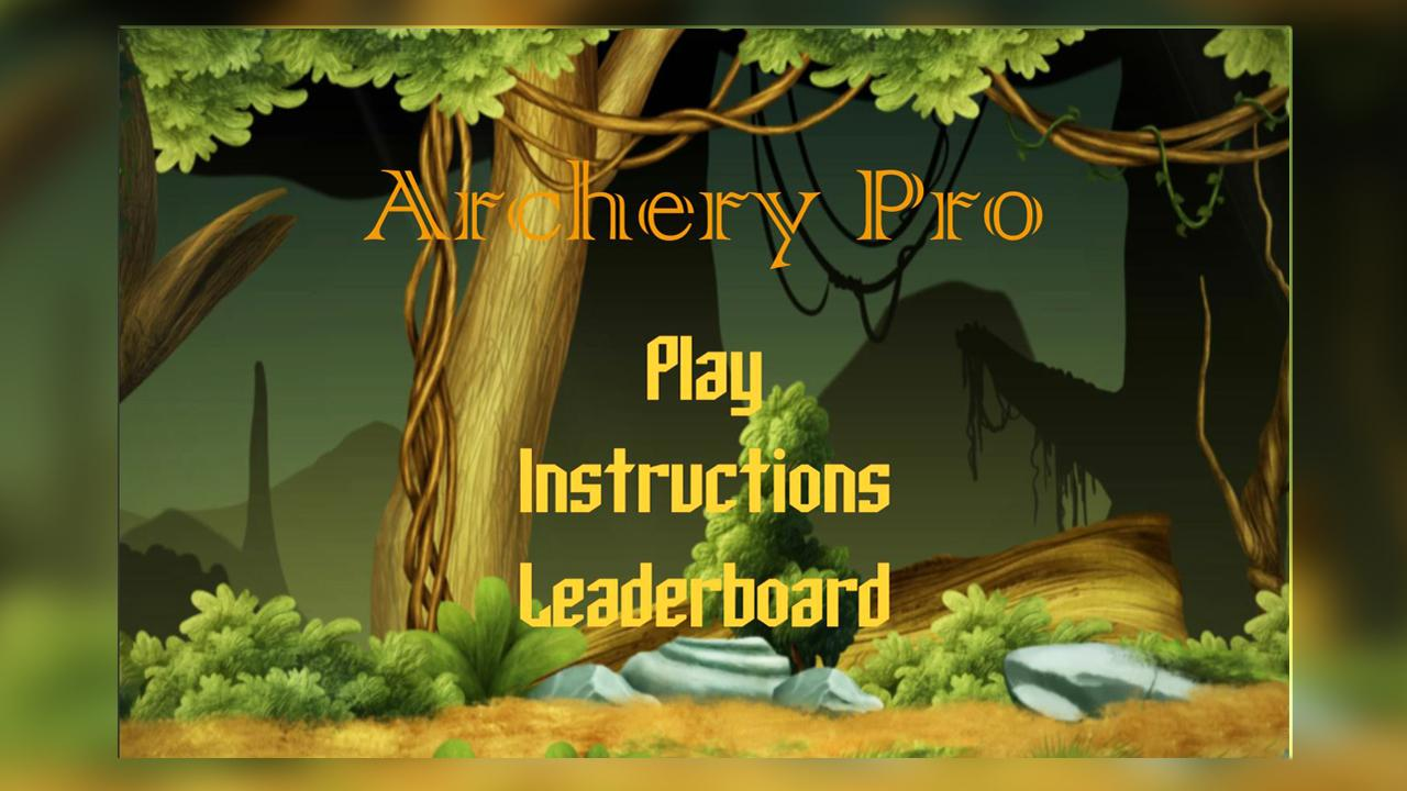 Archery Pro- screenshot