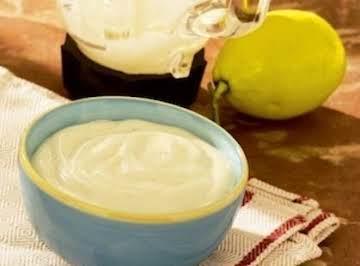 Homemade Blender Mayonaise