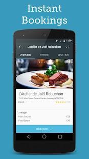 Bookatable Restaurant Bookings- screenshot thumbnail