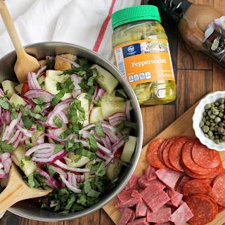 Antipasto Panzanella Salad