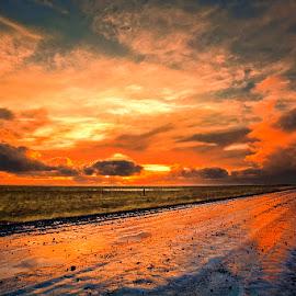 by Þorsteinn H. Ingibergsson - Landscapes Weather ( landscapenaturesunset )