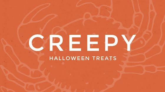 Creepy Halloween Treats - Halloween Template