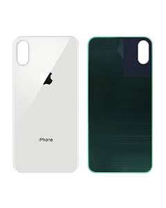 iPhone XS Back Glass White/Silver