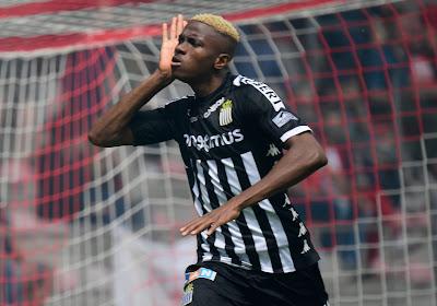 Victor Osimhen va bientôt quitter le Sporting Charleroi