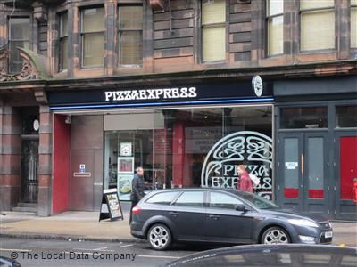Pizzaexpress On Sauchiehall Street Restaurant Italian In