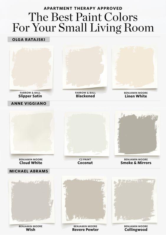 Culori spatii mici