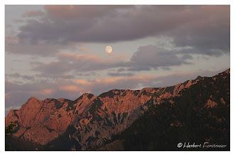 Photo: Sonnenuntergang (Snuset) Mondaufgang