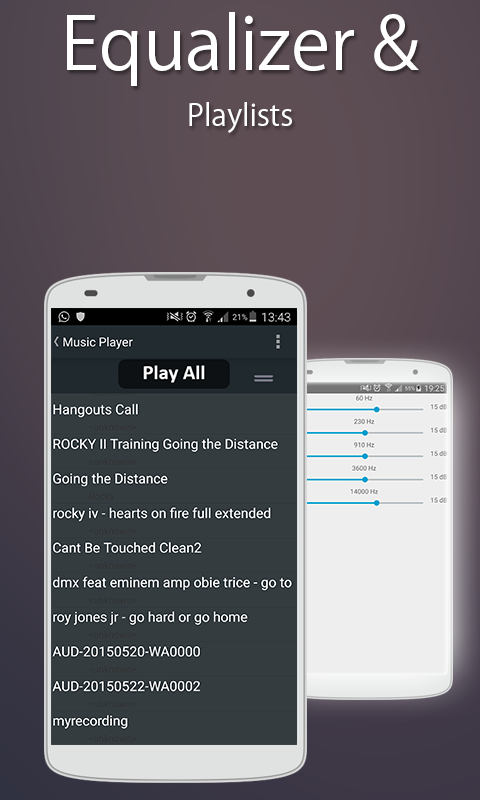 Song Player with Radio- screenshot