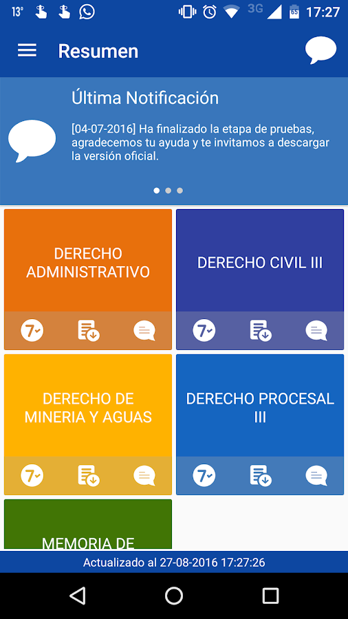 UdeCMovil- screenshot