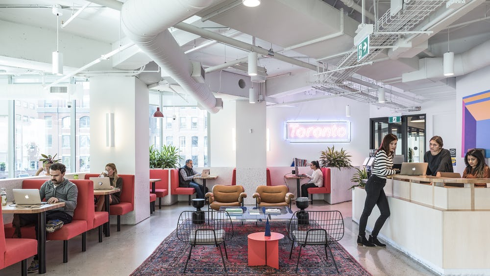 University Coworking Space in Chicago