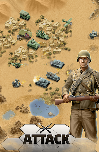 1943 Deadly Desert - a WW2 Strategy War Game 1.3.0 1
