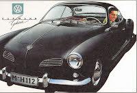 Karmann Ghia Coupe svart