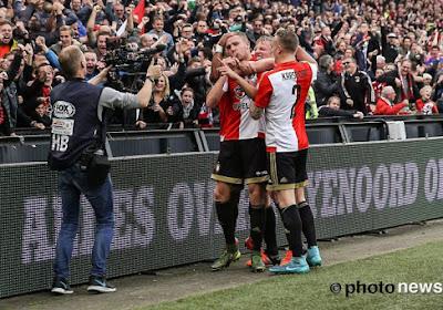 Feyenoord maintient sa place sur le podium