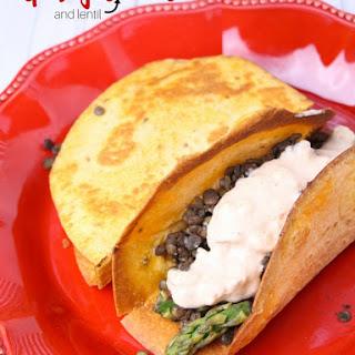 Asparagus Taco