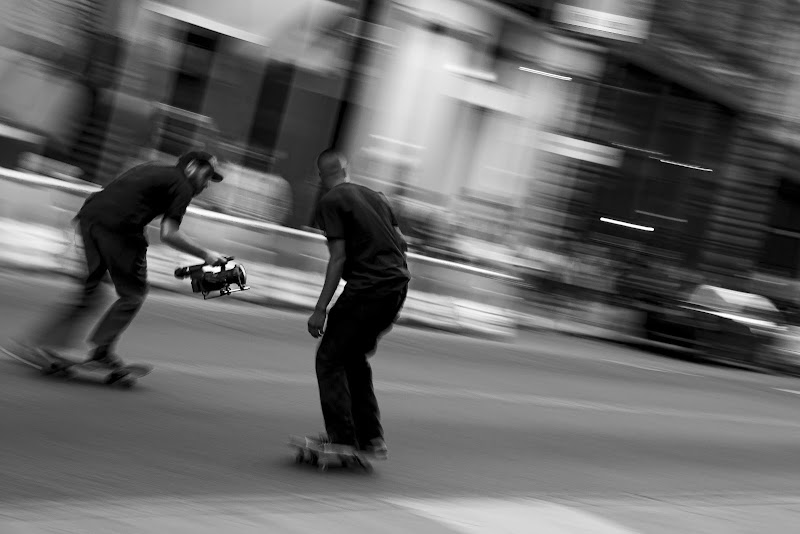 Skating down Fifth Avenue di FabiS