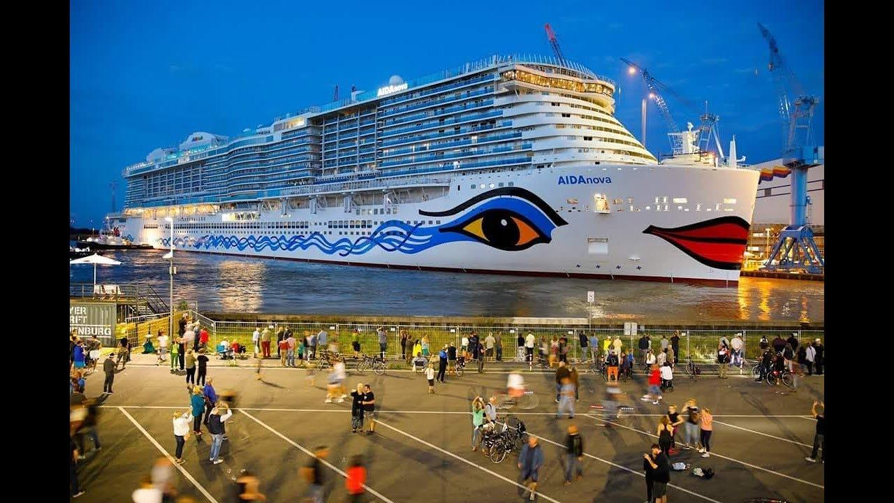 AIDA Nova - Brand new cruise ship - YouTube