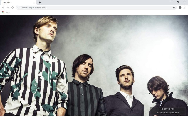 Cut Copy New Tab & Wallpapers Collection