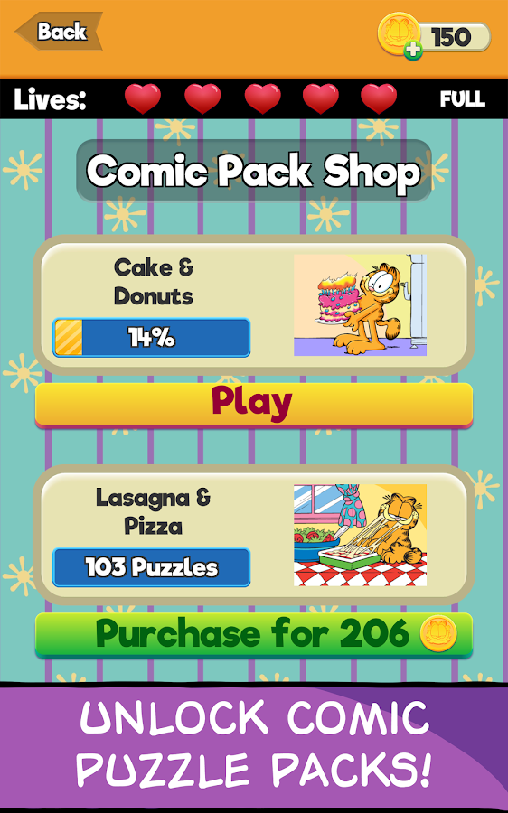 Garfield Trivia Free Game- screenshot