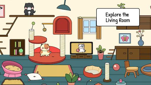 My Cat Townud83dude38 - Free Pet Games for Girls & Boys 1.1 screenshots 8