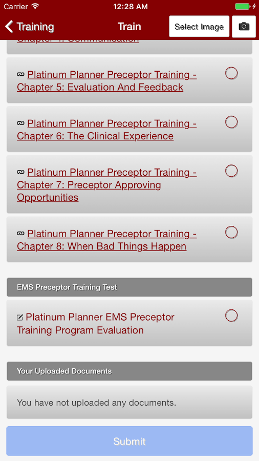 Platinum Planner- screenshot
