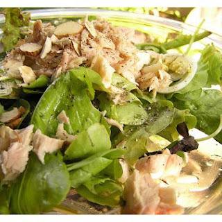 Tuna Almond Salad.