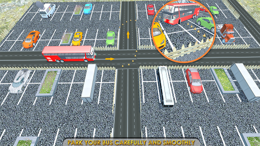 Coach Bus Simulator Parking  screenshots 6