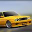 E30 Old Car Parking icon