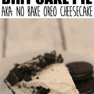 Dirt Cake Pie aka No Bake OREO Cheesecake