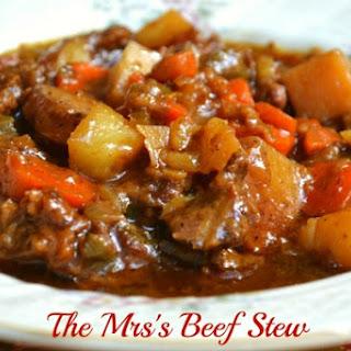 Best Ever Beef Stew.
