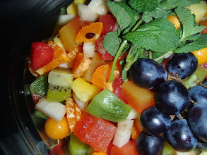 Photo: Salade de fruits frais de saison