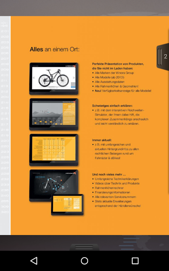 E. Wiener Bike Parts Katalog- screenshot