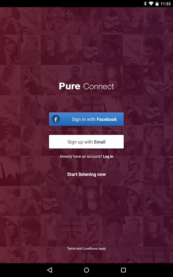 Pure Connect- screenshot