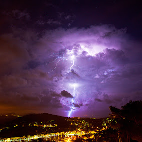 zajac david by Zajac David - Landscapes Weather ( photo david zajac, paysage, thunderstorm, utage, éclair'tempête, storm )