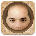 BaldBooth - The Bald Prank App icon