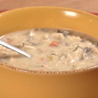 Creamy Chicken Wild Rice Soup.