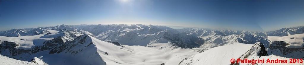Photo: Panorama 4 dalla vetta della Palla Bianca