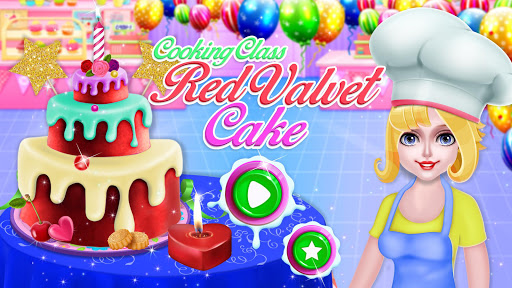Cooking Red Velvet Cake in Kitchen: World Recipes  screenshots 12