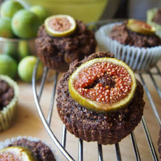 Fig and Carob Muffins.