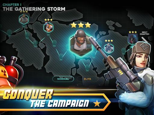 Alpha Squad 5: RPG & PvP Online Battle Arena poster