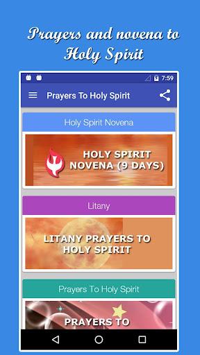 遊戲必備免費app推薦|Holy Spirit Novena And Prayers線上免付費app下載|3C達人阿輝的APP