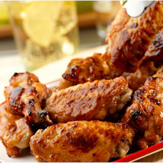Sticky Oven Glazed Chicken Wings Recipe