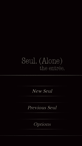 Seul (Alone) The entrée - Text Based Thriller CYOA image