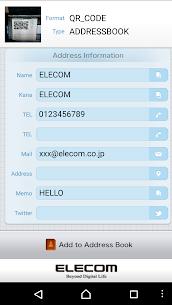 ELECOM QR Code Reader (FREE) – Latest MOD APK 2