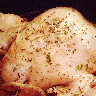 Crock Pot Roasted Chicken