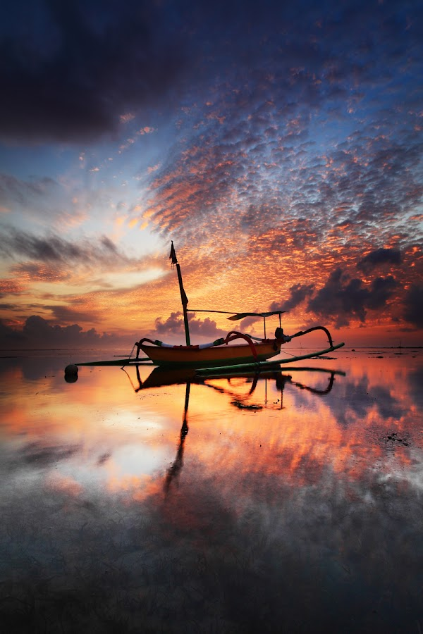 alone at the morning by Bayu Sanjaya - Landscapes Sunsets & Sunrises (  )