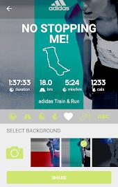 adidas train & run Screenshot 3